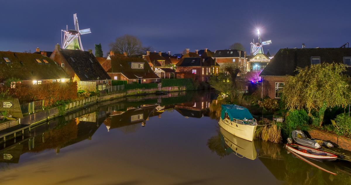 Kerstwandeling door Winsum